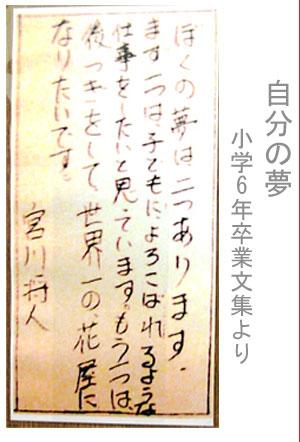 僕の夢 小学校卒業文集.jpg
