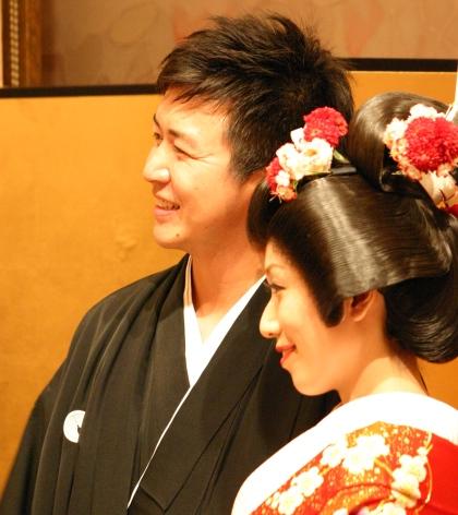 コーセー結婚式 笑顔.JPG