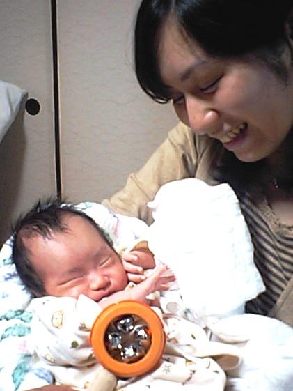 母親と 11月14日.JPG